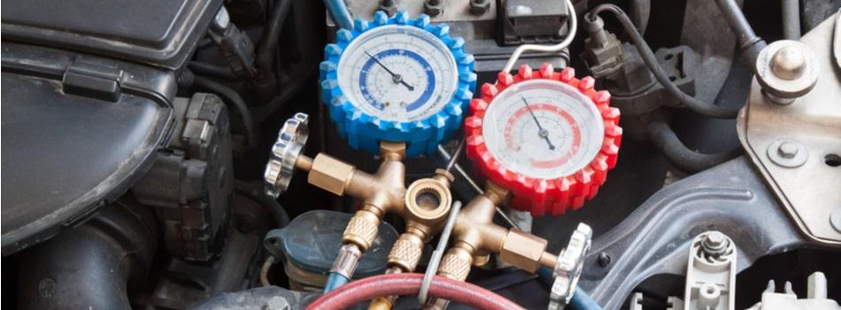 A set of gauges