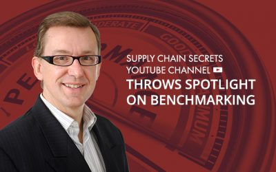 Supply Chain Secrets YouTube Channel Throws Spotlight on Benchmarking