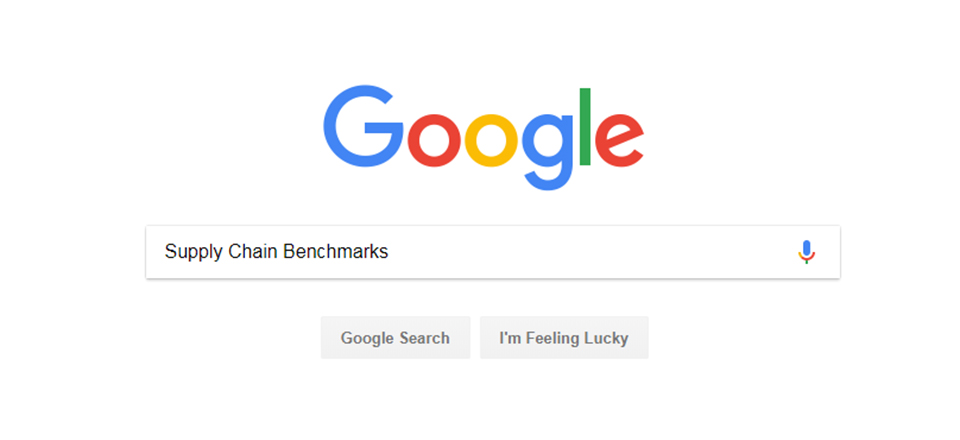 The Futility of Searching for Supply Chain Benchmarks on Google