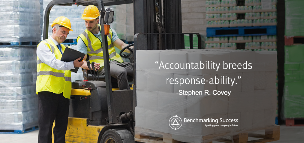 Stephen Covey Accountability Quote