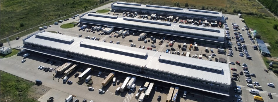 whole bunch of different warehouses in the business